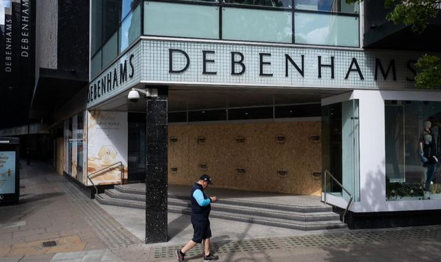 Coronavirus: Debenhams in administration for second time in year