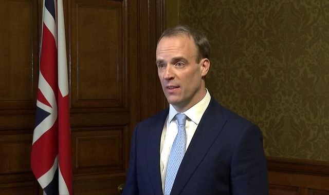 Coronavirus: Government business will continue, says Raab