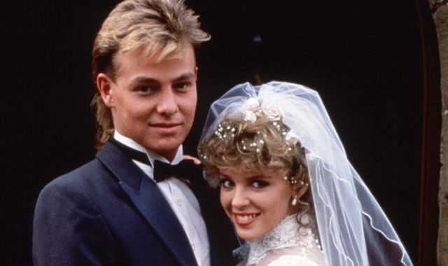 Kylie Minogue shares throwback Neighbours pics to wish Jason Donovan a happy birthday