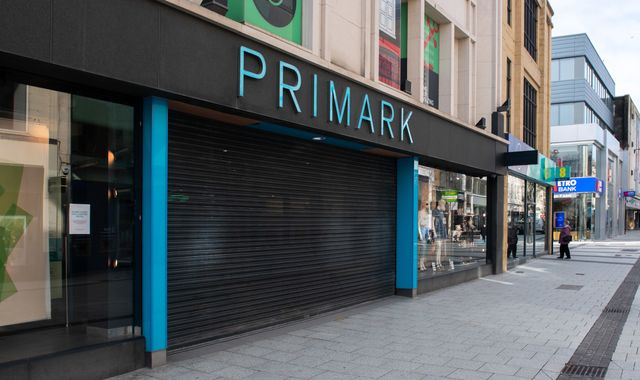 Coronavirus: Primark rules out fire sale of excess stock when UK stores reopen
