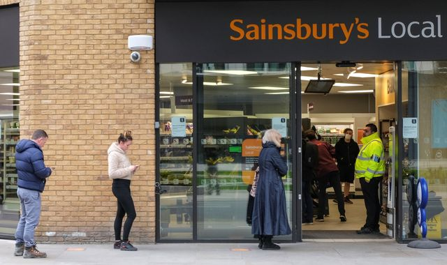 Coronavirus: Sainsbury's lifts limits on 'thousands' of products as stock levels recover
