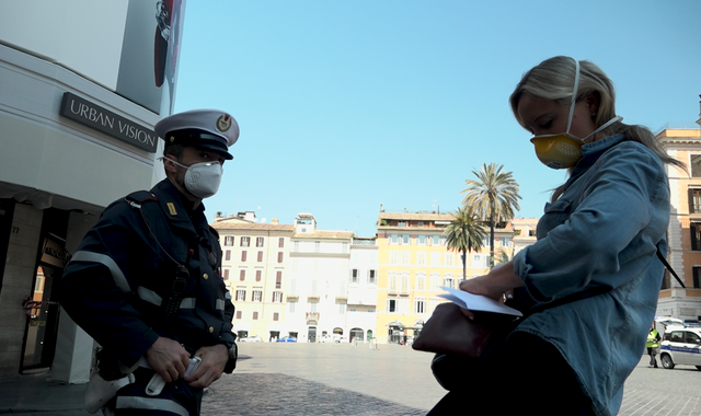 Coronavirus: 'Matter of time' before Italy faces a social emergency as tension starts to rise