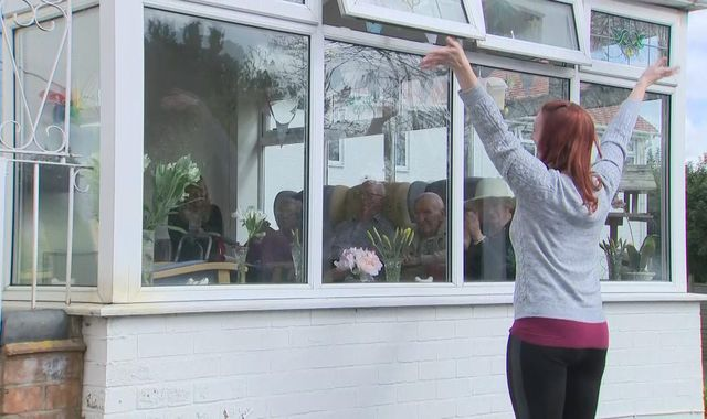 Coronavirus: How singers are providing a lifeline to care home residents in lockdown