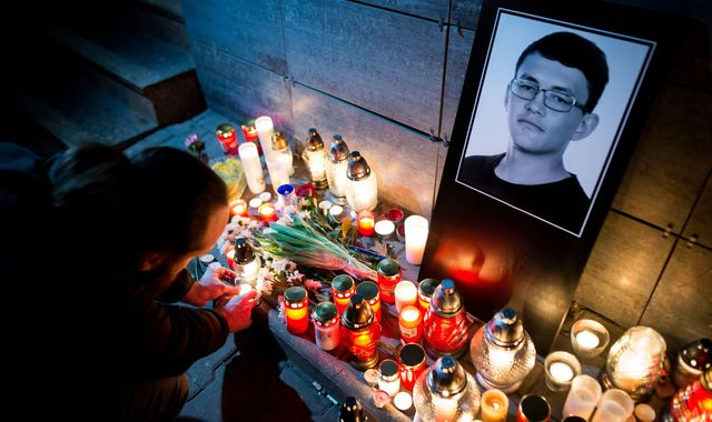 Jan Kuciak case: Ex-soldier jailed for double murder that brought down Slovakia's government