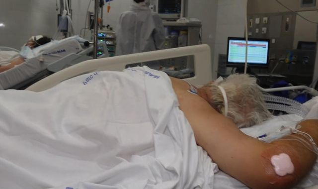 Coronavirus: 'Desperately ill and struggling to breathe' - Inside Spanish ICU treating COVID-19 patients