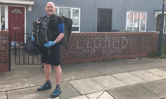 Coronavirus: Teacher walks five miles a day to deliver free school meals to children
