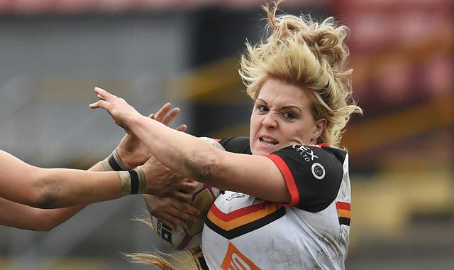 More than rugby league for Bradford Bulls captain and NHS worker Amy Hardcastle