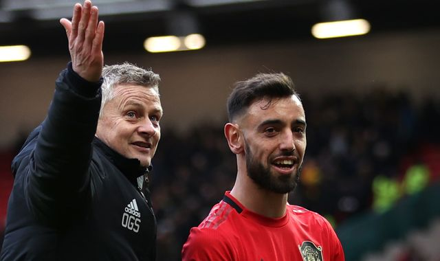 Bruno Fernandes reveals Ole Gunnar Solskjaer role in sealing Manchester United switch