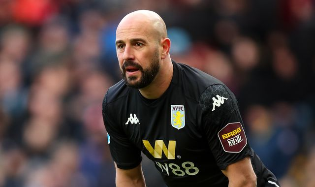 Aston Villa's Pepe Reina reveals 'real scare' in coronavirus battle