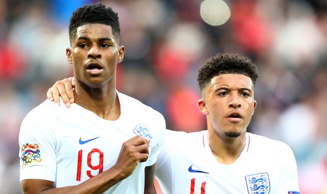 Marcus Rashford would relish Jadon Sancho signing at Man Utd