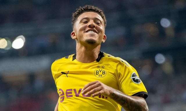 Jadon Sancho: Manchester United will not pay more than £50m for England winger