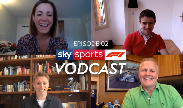 Sky F1 Vodcast: George Russell and Otmar Szafnauer join the team