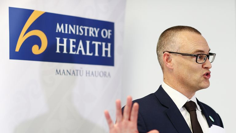 AUCKLAND, NEW ZEALAND - JULY 27:  Health Minister Dr David Clark speaks to the media on July 27, 2018 in Auckland, New Zealand. Health Minister Dr David Clark has announced a joint accord between District Health Boards, the Nurses Organisation and the Ministry of Health to ensure safe staffing levels in public hospitals.  (Photo by Hannah Peters/Getty Images)