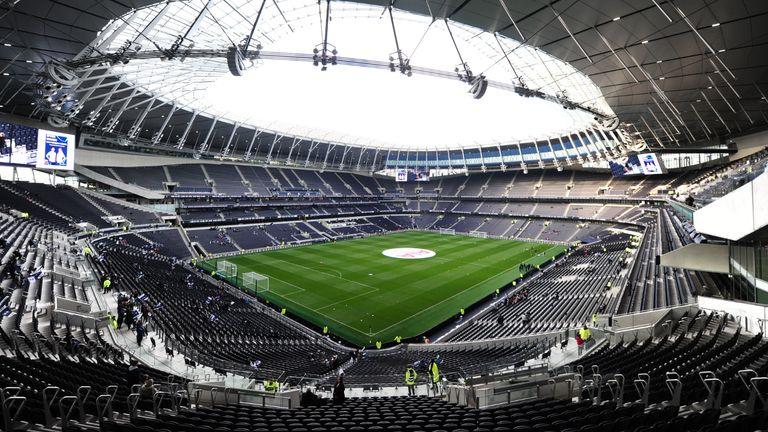File photo dated 17-11-2019 of Tottenham Hotspurs Stadium.