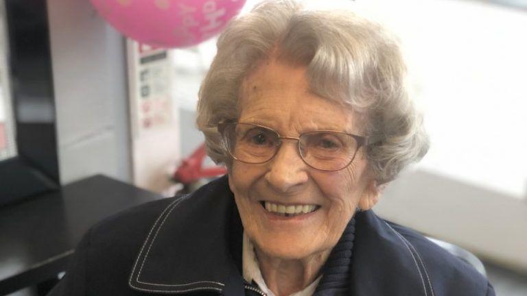 106-year-old COVID-19 SURVIVOR