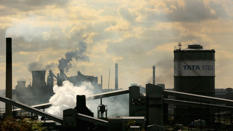 Coronavirus: Tata Steel seeks £500m government loan