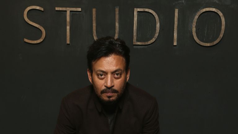 PARK CITY, UT - JANUARY 22:  Actor Irrfan Khan of 'Puzzle' attends The IMDb Studio and The IMDb Show on Location at The Sundance Film Festival on January 22, 2018 in Park City, Utah.  (Photo by Tommaso Boddi/Getty Images for IMDb)