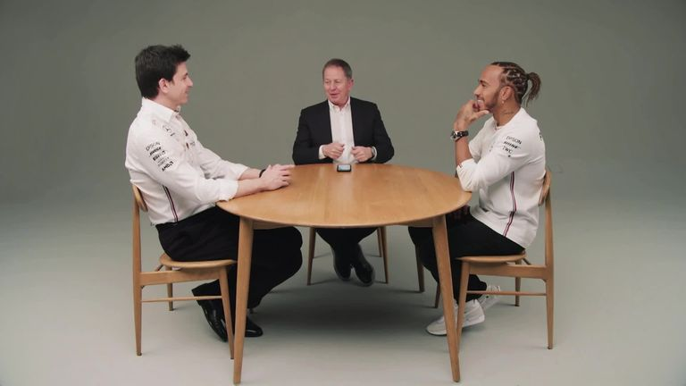 The full extended interview with Mercedes' title-winning duo Lewis Hamilton and Toto Wolff as they talk Martin Brundle through the secrets of their partnership.