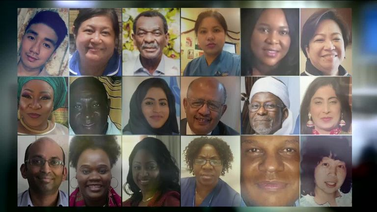 BAME care worker deaths