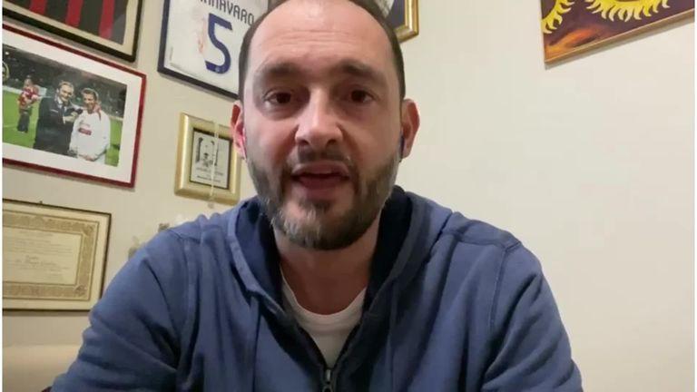 Sky Sport Italia reporter Gianluca Di Marzio discusses Barcelona's interest in Inter Milan forward Lautaro Martinez.