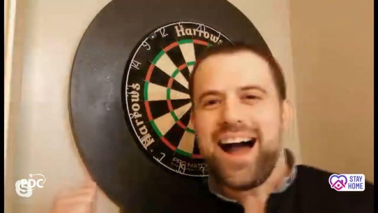 Luke Woodhouse produced an incredible nine-dart finish