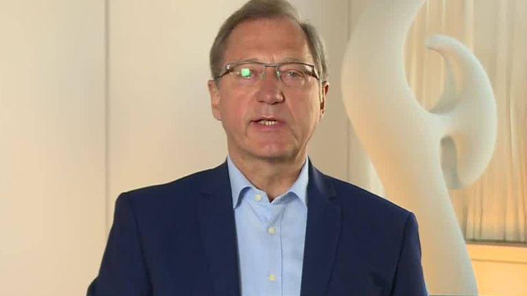 Danish Ambassador to the UK Lars Thusen