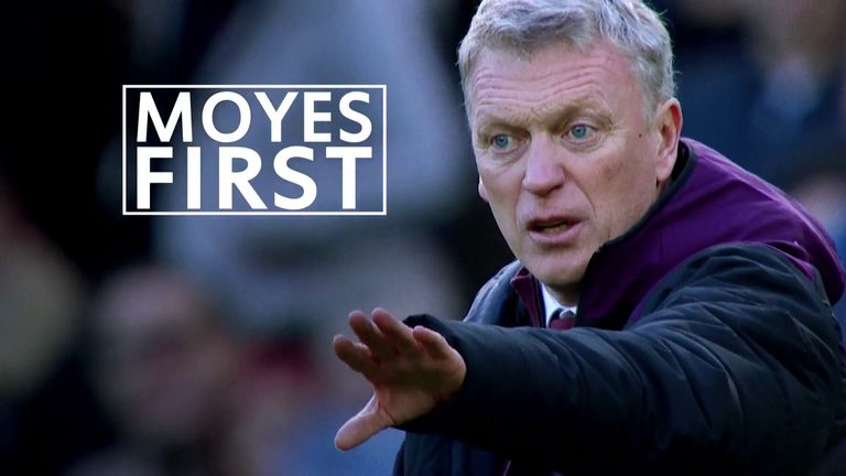 Soccer AM's Tubes speaks with West Ham manager David Moyes, running through his footballing firsts