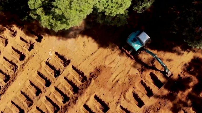 Brazil mass graves