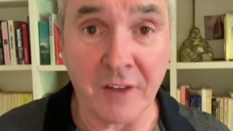 Neighbours actor Alan Fletcher has a message of encouragement for UK