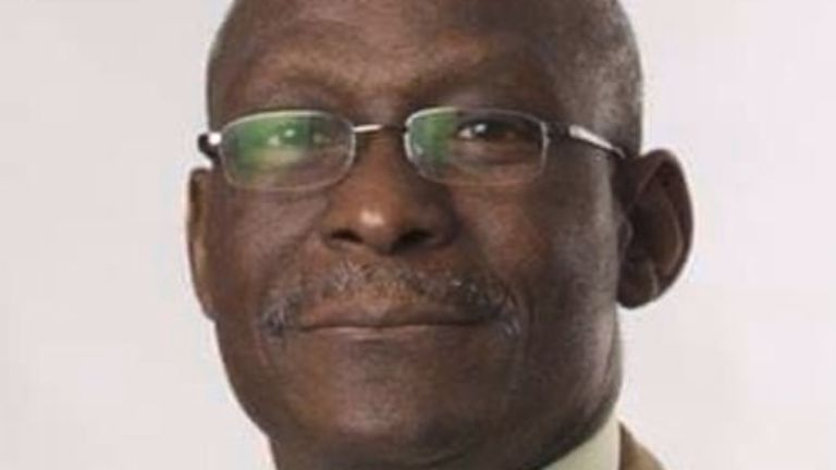 Dr Saadu was one of 563 people to have died on Tuesday after contracting coronavirus