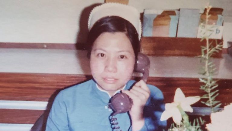 Alice Kit Tak Ong worked as a nurse for 44 years. Pic: Melissa Ong