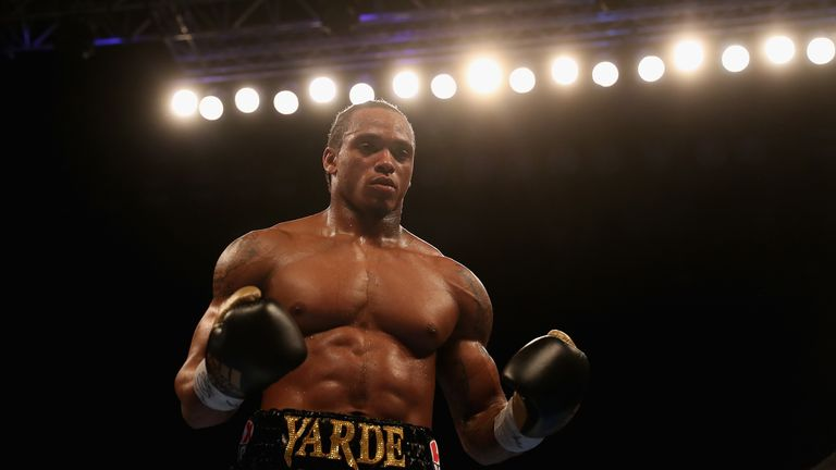 Anthony Yarde at Copper Box Arena on December 9, 2017 in London, England