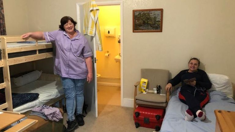 Staff at St Brelades care home in Herne Bay, Kent