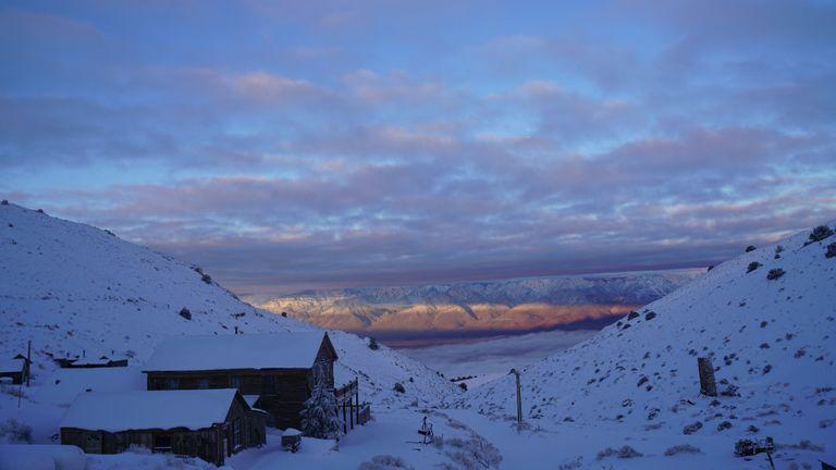 Cerro Gordo at sunrise. Pic: Brent Underwood