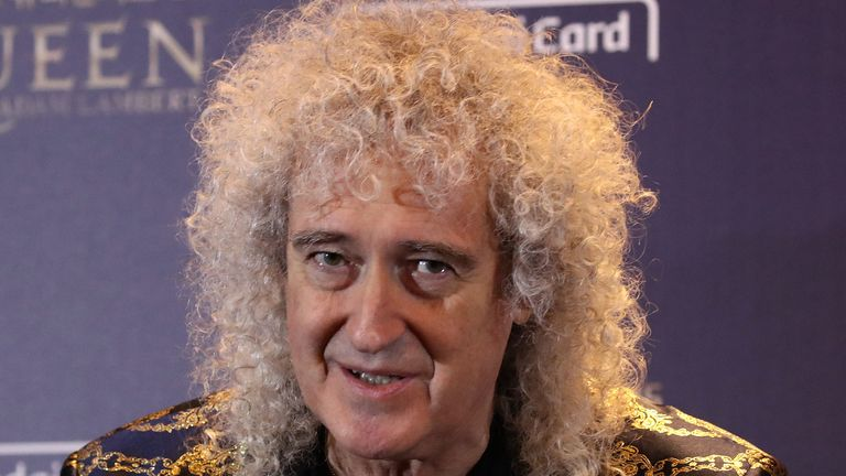 Brian May says he hopes NHS staff get a pay rise when the coronavirus pandemic is over