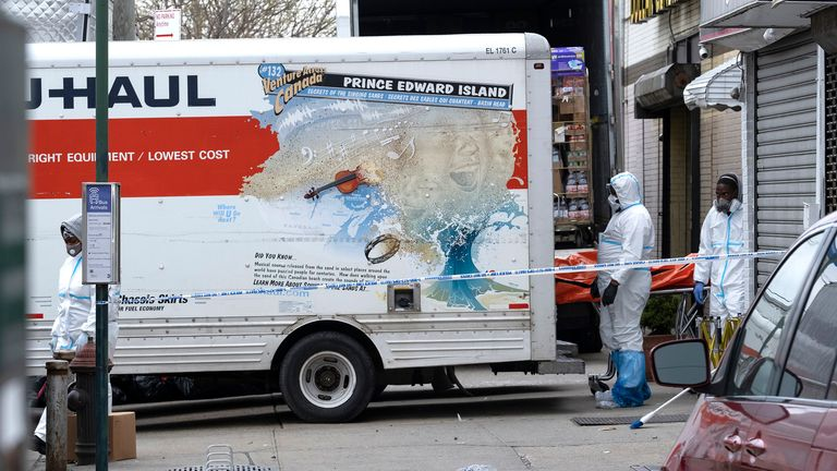 Coronavirus: 50 corpses discovered in US trucks after neighbours ...