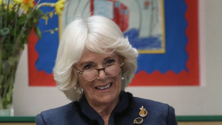 The Duchess of Cornwall has recommended her late brother's book for people during lockdown