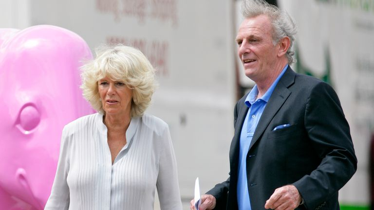 2010: Camilla with her brother Mark Shand
