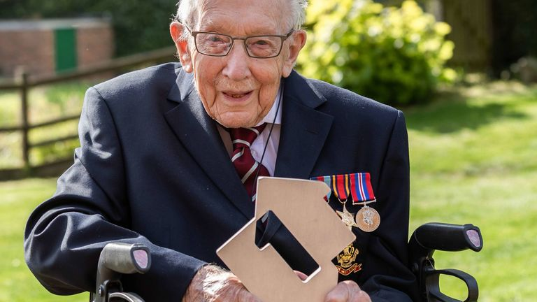Captain Moore will be the first centenarian to ever get to Number 1