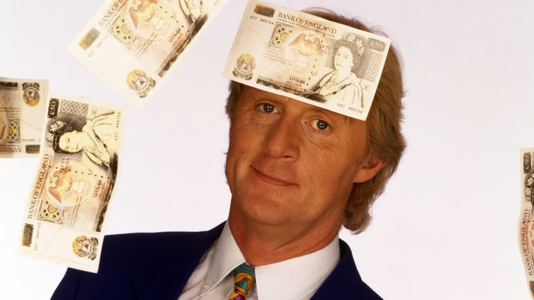 Chris Tarrant promo for Who Wants To Be A Millionaire? Pic: ITV/Shutterstock