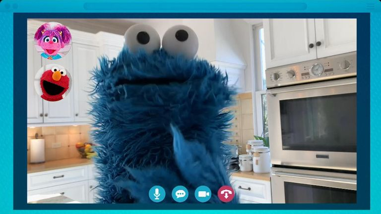 Cookie Monster is among the Muppets featuing in the epsiode. Pic: Sesame Workshop