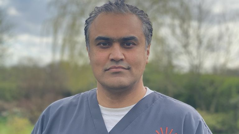 Dr Amar Ahmed from the Wilmslow Health Centre is appealing to patients for PPE