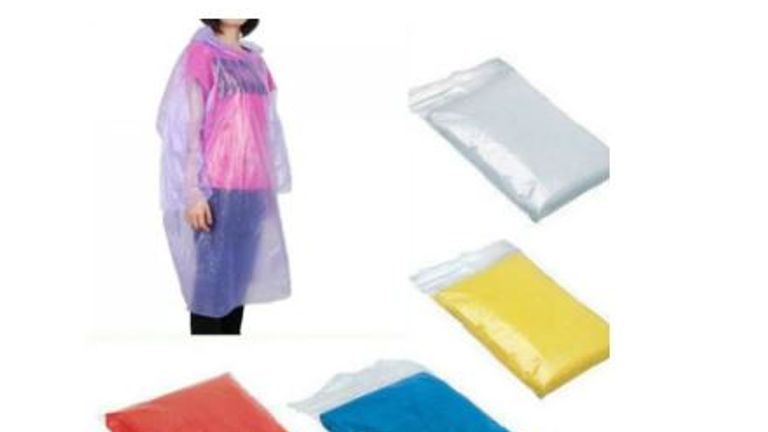 Ponchos are among the items needed. Pic: Wilmslow Health Centre