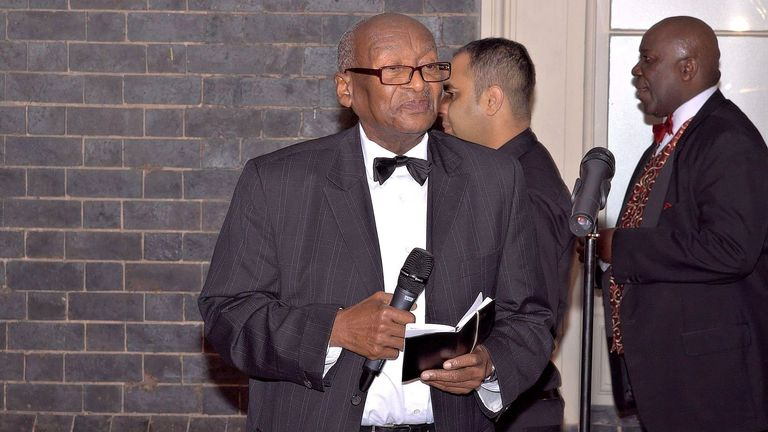 Bishop Horatio Fearon, who was in his 80s, died on Wednesday. Pic: Walter James Photography