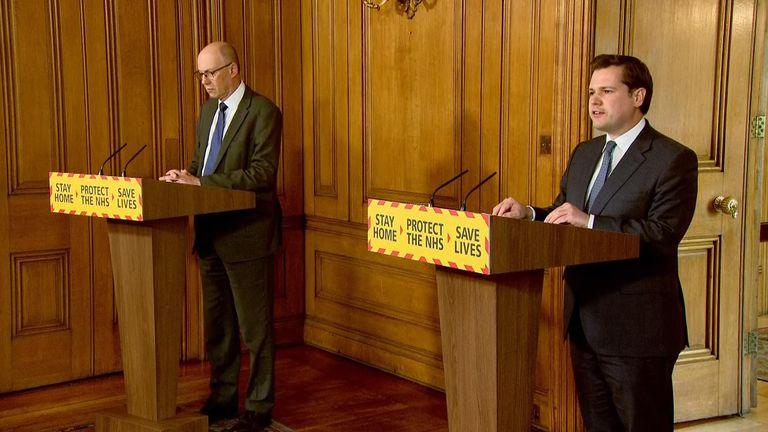 Housing secretary Robert Jenrick announces £1.6bn to support local councils during the coronavirus pandemic.