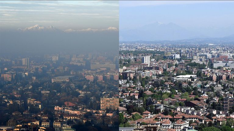 Pollution levels