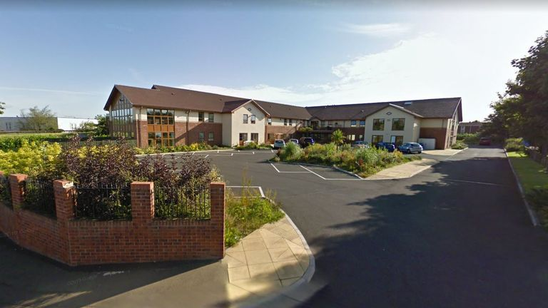 Stanley Park, a care home that has been badly hit by coronavirus. Pic: Google Streetview