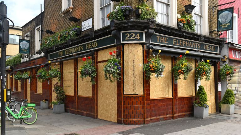 The Elephant's Head pub in Camden, London. Pic: Philip Sharkey/TGS Photo/Shutterstock