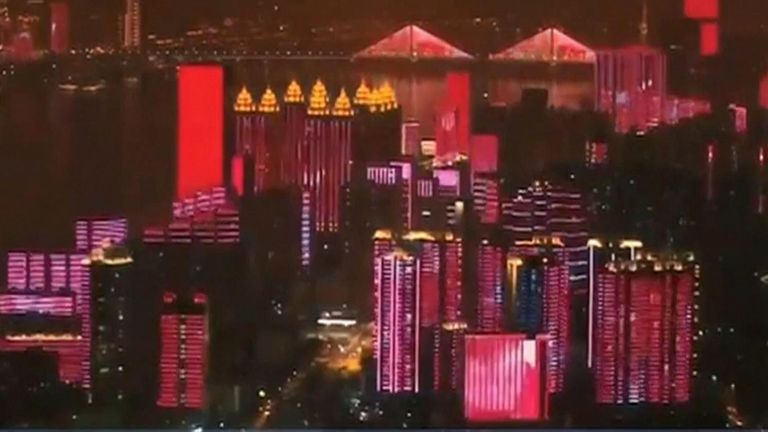 'Heroic city' Wuhan ends lockdown with party 11 weeks after it was epicentre