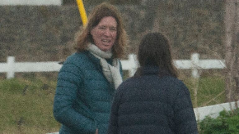 Dr Calderwood apologised for visiting her second home on more than one occasion. Pic: The Scottish Sun / News Licensing